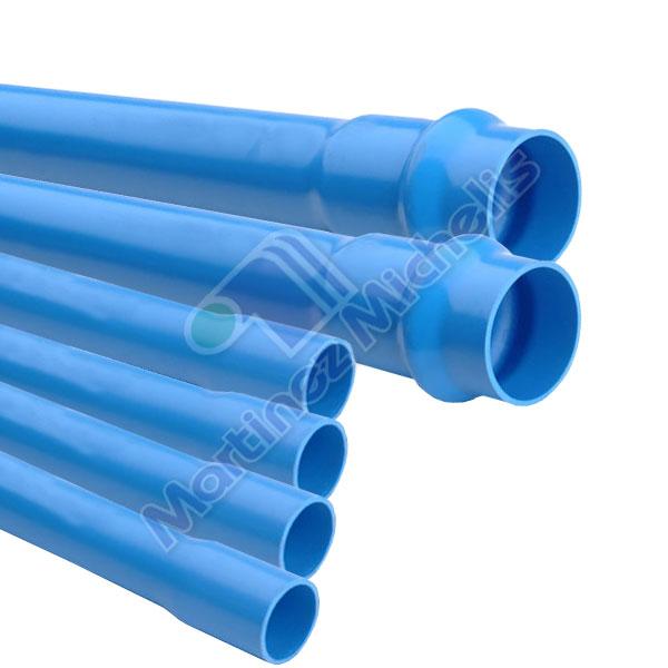 Ca erias y tubos tubo pvc presion pn 12 5 mart nez - Medidas tubos pvc ...