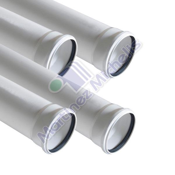 Ca erias y tubos tubo pvc sanitario blanco mart nez - Tubos pvc blanco ...